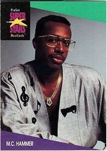 M.C. HAMMER 1991 PRO SET MUSIC CARDS # 122 - $1.24