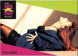 PAULA ABDUL 1991 PRO SET MUSIC CARDS # 28 - $1.24
