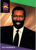 TEDDY PENDERGRASS 1991 PRO SET MUSIC CARDS # 131 - $1.24