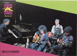 BRUCE HORNSBY 1991 PRO SET MUSIC CARDS # 51 - $1.24
