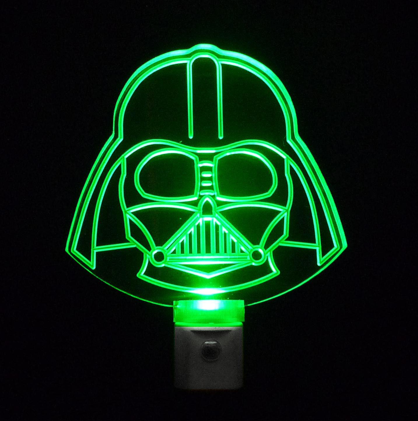 Star Wars Night Light  Darth Vader Colored LED Light