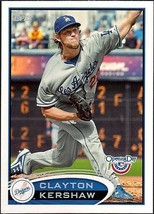 CLAYTON KERSHAW 2012 TOPPS OPENING DAY # 181 - $1.24