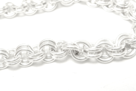 "Sterling Silver 32"" Double Rolo Necklace Chain Long Bright  - $98.00"