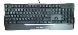 Abko Hacker K300 English Korean Plunger LED Wired Gaming Keyboard image 5