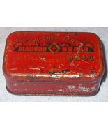 Vintage Chi-Ches-Ters Diamond Brand Large Size Pills Tin - $9.95