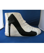 Women Fashion Design Sneaker Big City Punk White Canvas - Black by BE&D ... - $49.99