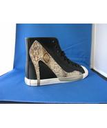 Women FAshion Design Sneaker Big City Black Canvas - Roccia by BE&D Mais... - $49.99