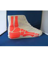 Men Fashion Designer Sneaker Boogie Man Bones Acid Red by BE&D Maison Du... - $49.99