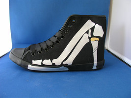 Men FAshion Design Sneaker Boogie Man Bones - White by BE&D MAison Dumain - $49.99