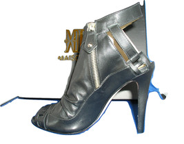 Women Rocketeer Bootie - Black Strap Shoes by BE&D Maison Dumain - $54.99