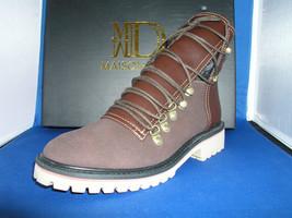 Women Landen Grey Rock - Tan 060 S\Laced Shoe by BE&D Maison Dumain - $54.99