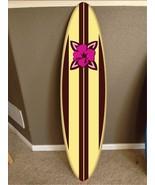 wall hanging surf board surfboard decor hawaiian beach surfing teen beac... - $74.24