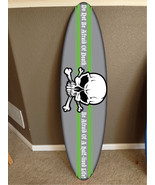 wall hanging surf board surfboard decor hawaiian beach surfing pirate decor - $74.24
