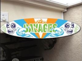wall hanging surf board surfboard decor hawaiia... - $79.19