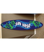San Diego surf board surfboard decor hawaiian beach surfing beach decor - $118.80