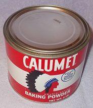 Vintage Calumet 5 pound Baking Powder Tin - $7.95