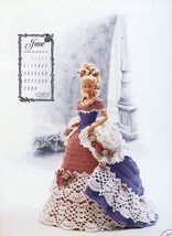 Miss June 1993 Centennial Outfit for Barbie Doll Annie's Crochet PATTERN - $2.31