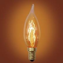 Urbanest Spiral Loop Incandescents Flame Tip Edison Bulb,E12 Candelabra ... - €4,00 EUR+