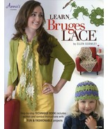 Learn Bruges Lace 8 Projects Annie's Crochet Pattern Book NEW 30 Days to... - $6.72
