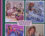 Fashion Doll Dream Home for Barbie Plastic Canvas Pattern Book - $28.78