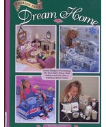 Fashion Doll Dream Home for Barbie Plastic Canvas Pattern Book - $47.22
