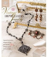 Vintage Impressions Jewelry Annie's Instruction/Pattern Book NEW 30 Days... - $8.52
