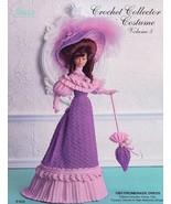 1903 Promenade Dress for Barbie Paradise vol. 5 Crochet PATTERN LEAFLET - $3.57