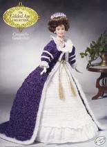 Consuelo Vanderbilt Outfit for Barbie Doll Annie's Gilded Age Crochet Pattern - $10.77