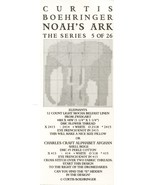 Elephants Boehringer Noah's Ark Series Cross Stitch Mini Pattern 30 Days... - $3.57