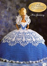Miss January 1991 Antebellum Crochet Pattern for Barbie Doll - 30 Days To Pay! - $2.67