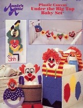 Under The Big Top Baby Set Plastic Canvas Pattern/INSTRUCTIONS Booklet - $1.77