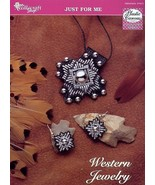Western Jewelry NEW TNS Plastic Canvas Pattern - 14 Mesh -30 Days To Sho... - $5.37