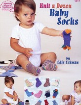 Knit a Dozen Baby Socks 6-24 months PATTERN/INSTRUCTIONS/NEW Leaflet - $1.59