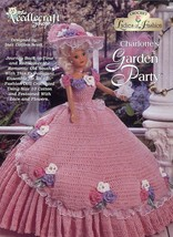 Charlotte's Garden Party Fashion Doll Outfit Crochet PATTERN/INSTRUCTIONS - $4.47