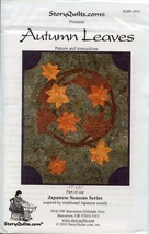 Autumn Leaves StoryQuilts Quilt Pattern Leaflet NEW - 30 Days to Shop & ... - $4.47