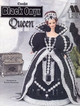 Black Onyx Queen Doll Outfit fits Barbie Annie's Crochet Pattern Booklet - $8.52