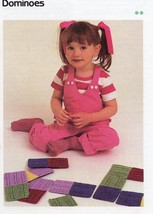 Cavendish Dominoes Crochet Pattern/Instructions Leaflet NEW - $0.89