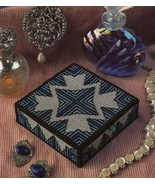 Sapphire Jewelry Box Annie's Plastic Canvas PATTERN/INSTRUCTIONS NEW - $0.90