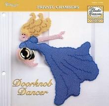 Doorknob Dancer Girl TNS Plastic Canvas Pattern NEW - 30 Days to Shop & ... - $0.90