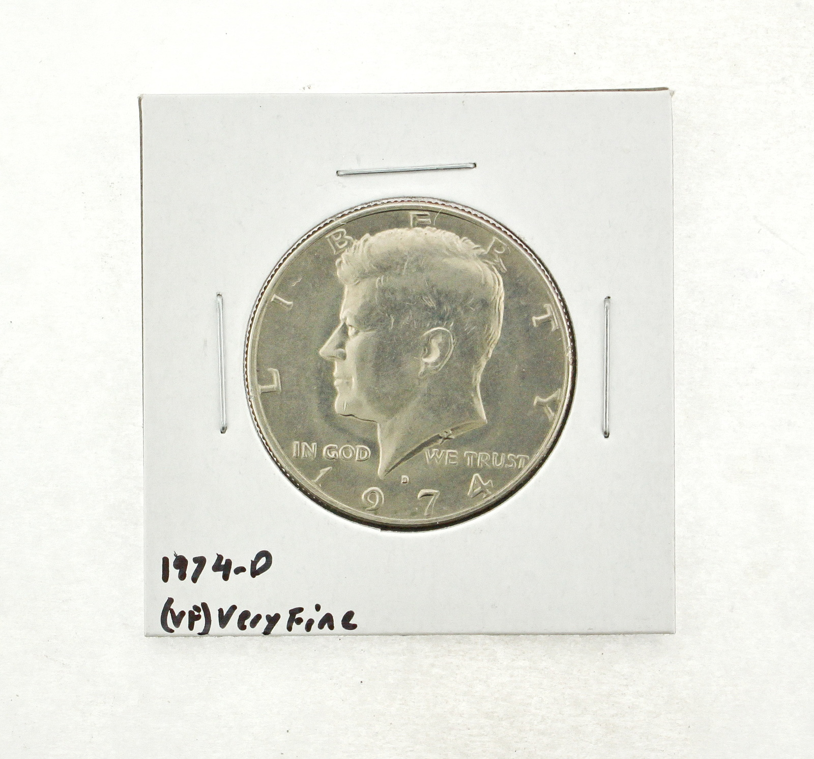 1974-D Kennedy Half Dollar (VF) Very Fine N2-3666-2