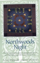 Northwoods Night Touchwood Quilt Pattern Leaflet NEW Bears Stars - $1.77