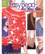 Easy Bead As You Go 11 Projects Annie's New Crochet PATTERN/INSTRUCTIONS... - $6.27