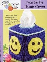 Keep Smiling Tissue Cover Annie's Scrap Crochet PATTERN/INSTRUCTIONS New - $2.22