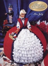 Miss July Gems of the South Outfit for Barbie Doll Annie's NEW Crochet Pattern - $3.48