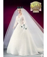 Sound of Music Bride Outfit for Barbie Doll Golden Age Film Crochet PATTERN - $7.17
