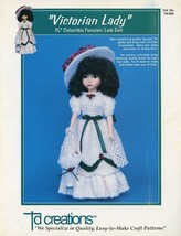 "Victorian Lady for 15"" Doll TD Creations Crochet Pattern -30 Days To Sho... - $2.67"