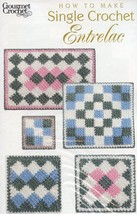 How To Make Single Crochet Entrelac NEW Gourmet Crochet Pattern 30 Days ... - $8.07