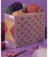Desert Diamonds Basket Annie's NEW Plastic Canvas Pattern Leaflet - $0.90
