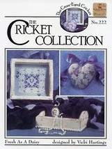 Tickle It With A Hoe Garden Great Bear Cross Stitch Pattern Leaflet NEW - $5.37