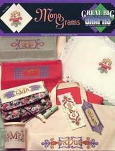 Mono Grams Monograms Alphabet & Borders Cross Stitch Pattern NEW - $1.77